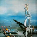 Surrealism: 'Indefinite Divisibility', by Yves Tanguy, 1942