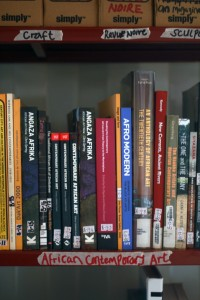 Literature on African contemporary art at the 32o East Resource centre