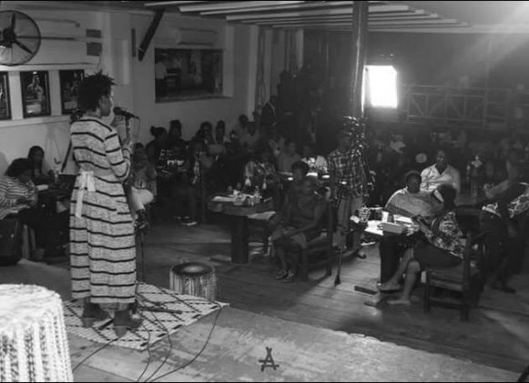 Daphine Arinda's poetry recital